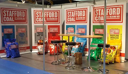 Big Impress pull-up stand | Stafford Coal