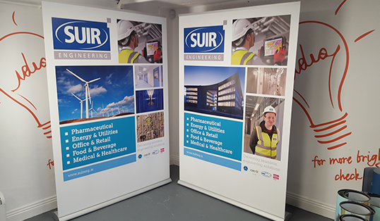 Big Impress pull-up stand | Suir Engineering