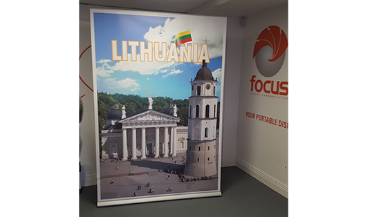 Big Impress pull-up stand | Lithuania