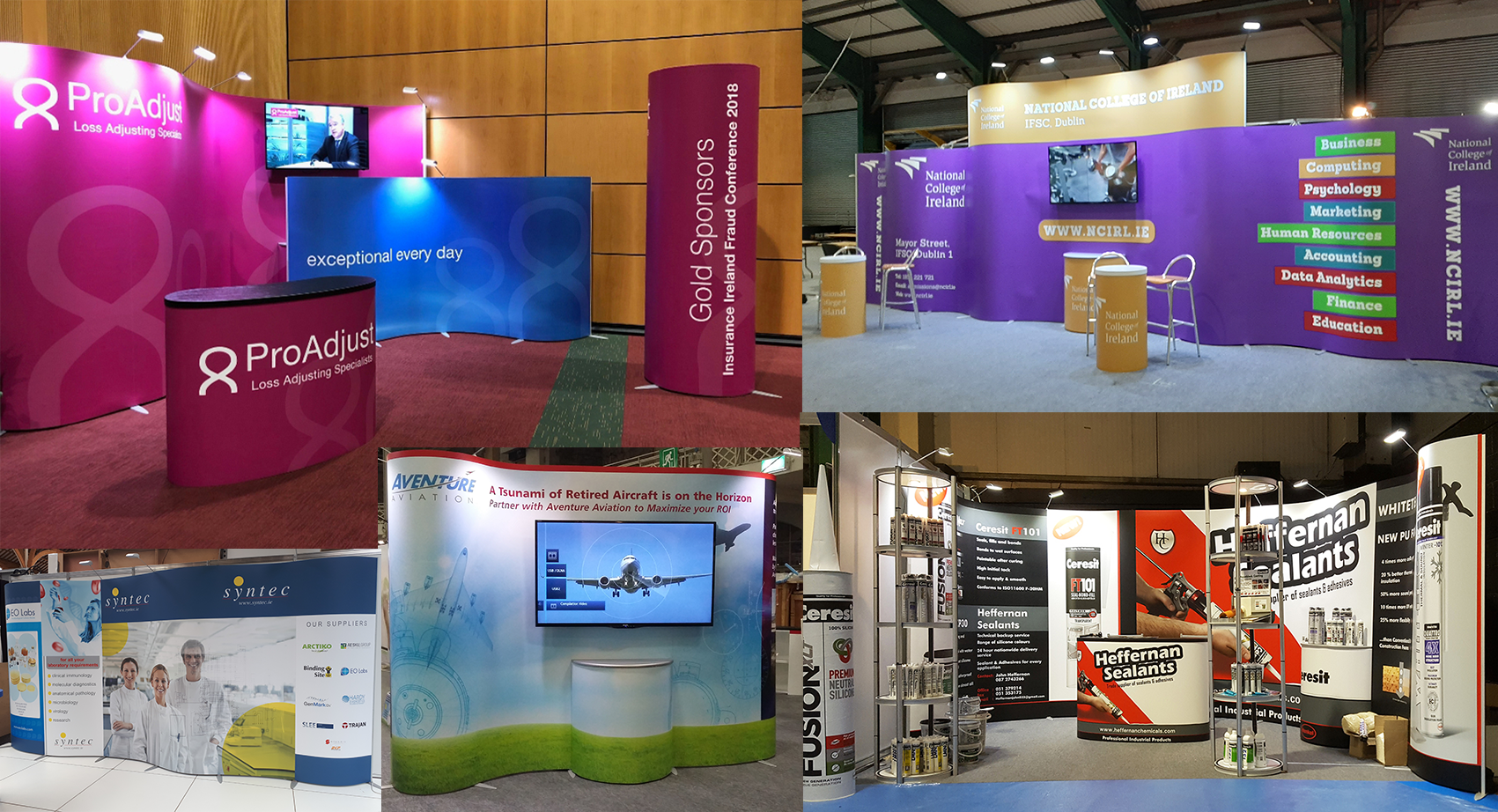 ISOframe Wave Expo & Tradeshow Rental packages